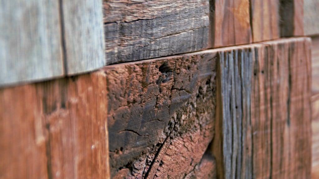Trævæg-baggrund