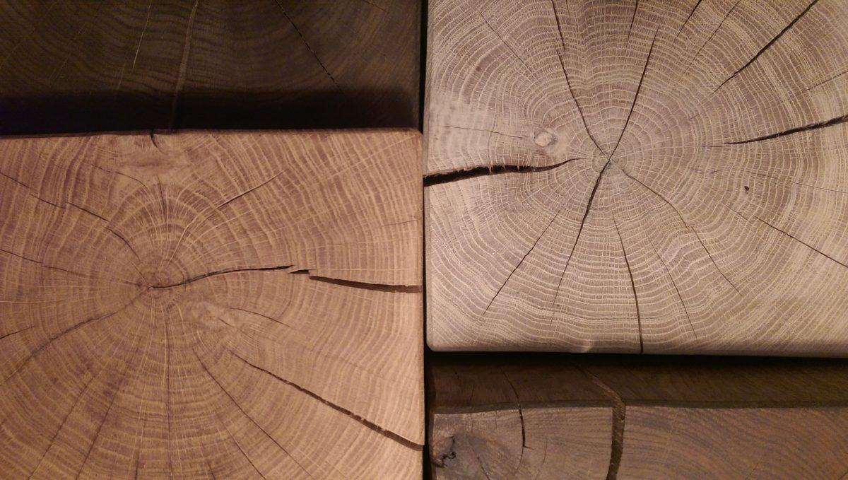 Træblokke træborde firkantet