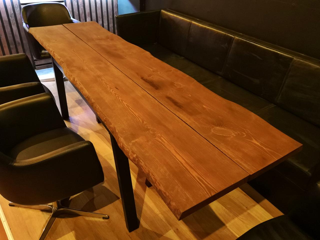 Spisebord rustik planker